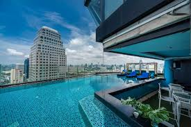 hotel swimming pool the continent hotel bangkok