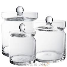 Candy Buffet Apothecary Jars by Set Of Three 3 Candy Buffet Jars Glass Apothecary Jar Kids