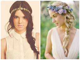 headband waves braided boho hairstyles hairstyle for women