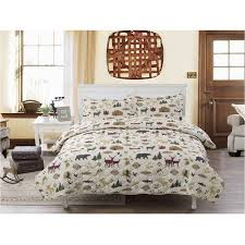 country lodge bedding quilt walmart