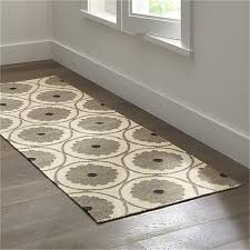 Dhurrie Runner Rugs Ridley Wool Dhurrie 2 5 X7 Rug Runner Crate And Barrel S