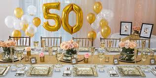50th anniversary decorations gold decorations for 50th wedding anniversary wedding