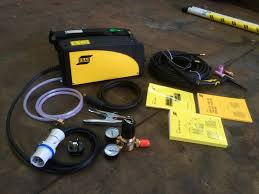 esab caddy tig 2200i ta33 or ta34 pulsed tig welder inverter
