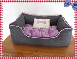small pet beds 2018 pet bed puppy bed cat bed pet house purple bone small pillow
