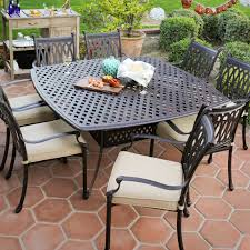 Metal Garden Table Closeout Furniture Selections For Outdoor Spaces Homesfeed