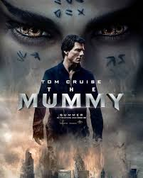 the mummy watches the world burn in brand new poster one sheet