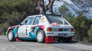 renault 5 turbo group b rm monaco 2016 1984 peugeot 205 turbo 16 evolution 1 group b