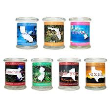 Homesickcandles United Scents Of America Candles Scented Jar Candle California