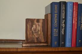 making a statement diy bookends