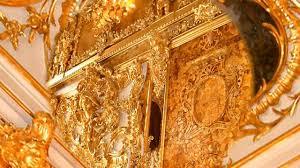 chambre ambre russie le palais catherine et la chambre d ambre