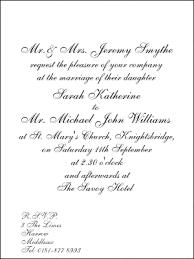 wedding invite words formal wedding invitation wording kawaiitheo