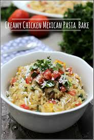 Mexican Pasta Salad Chicken Mexican Pasta Bake