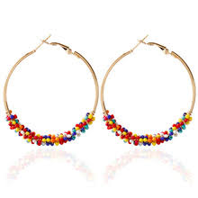 Handmade Seed Beaded Gold Plated Buy Seed Bead Earrings And Get Free Shipping On Aliexpress Com