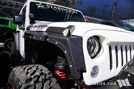 white jeep 2016 2016 sema white starwood jeep jk wrangler unlimited