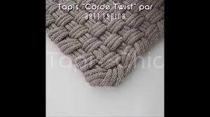 Tapis De Salle De Bain Gris by Tapis Corde Gris D U0027arte Espina Par Tapis Chic Youtube