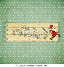 eps vector of christmas cards with santa claus and hand draw text