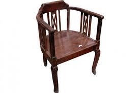 le de bureau ancienne chaise ancienne ou fauteuil de bureau origine inde à nantes