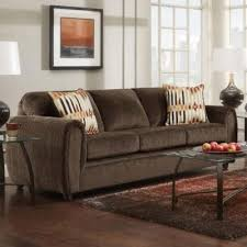 washington chocolate reclining sofa sofas tahoe chocolate 1873 214 sofa stationary from affordable