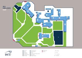 Boston University Campus Map Information Dcu Campus Map Dcu
