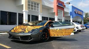 wrapped lamborghini custom chrome wrap on a lamborghini gallardo wraps1