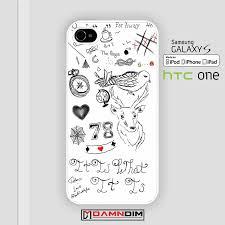 one direction louis tomlinson tattoos iphone case 4s 5s 5c 6 6plus se
