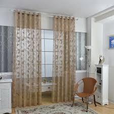 rideau fenetre chambre rideaux élégante fenêtre porte rideaux transparents voile tulle