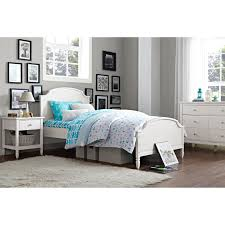 Bedroom Furniture High Riser Bed Frame Kb Furniture High Riser Bed With Pop Up Trundle Atg Stores Twin
