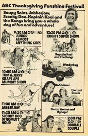 scooby doo thanksgiving saturday mornings forever the scooby doo show
