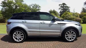 range rover silver used land rover range rover evoque 2 0 td4 hse dynamic 5dr auto