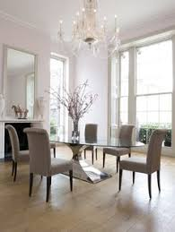 Rectangle Glass Dining Room Tables Decorative Dining Room Transitional Design Ideas For
