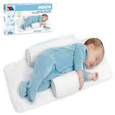 oceanfry baby infant newborn sleep positioner anti roll pillow