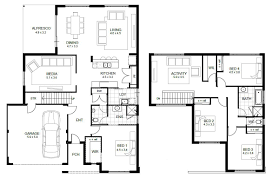 5 Bedroom Floor Plans 1 Story by Two Story Small House Plans Google Search Fascinating Strikingly
