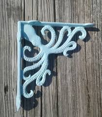 Wooden Shelf Bracket Patterns by Octopus Cast Iron Bracket Shelf Bracket Nautical Decor