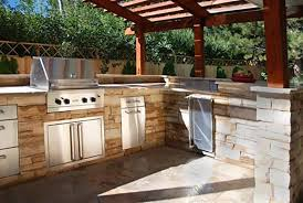 kitchen wonderful outdoor island bar built in gas grills outside