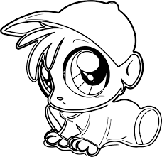 how to draw chibi alvin alvin and the chipmunks coloring page