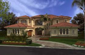 one story mediterranean house plans luxury home with 6 bdrms 6175 sq ft floor plan 107 1002