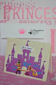 tangled princess rapunzel invitations jingvitations