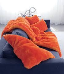 Faux Fur Throw Pillow Evelyne Prelonge Orange Faux Fur Coverlets U0026 Throws U0026 Decorative