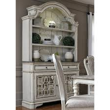 Hutch And Buffet by Liberty Furniture Magnolia Manor Dining Dining Buffet And Hutch