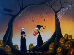 halloween art wallpaper halloween artist heather gleason my eclectic mind