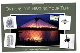 tent heaters camping in autumn winter and spring options for heating your tent