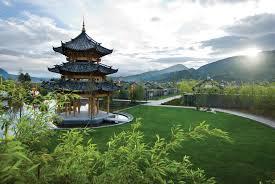 fabulous banyan tree lijiang resort in china