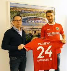 Martin Bader Hannover 96 Medienservice Milosevic Kommt Marcelo Geht