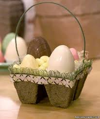easter egg baskets to make creative and easter crafts