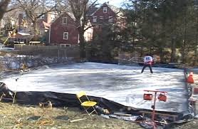 Build A Backyard Ice Rink Build A Winter Playground Diy