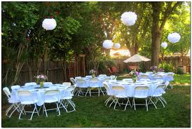 Wedding Backyard Reception Ideas by Simple And Lovely Graduation Party Decoration Idea Hanging