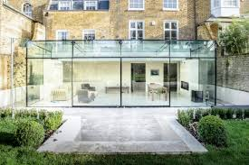 Glass Box House Extraordinary Glass Extension In London Modern Conservatory