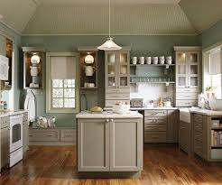 coordinating wood floor with wood cabinets kitchen ideas decorating with white appliances painted cabinets