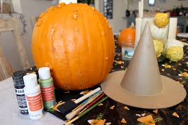 Pumpkin Decorating Without Carving Pumpkin Decorating Without Carving Sohosonnet Creative Living