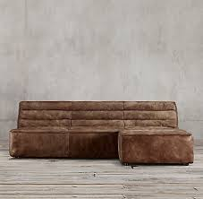 Chelsea RH - Chelsea leather sofa